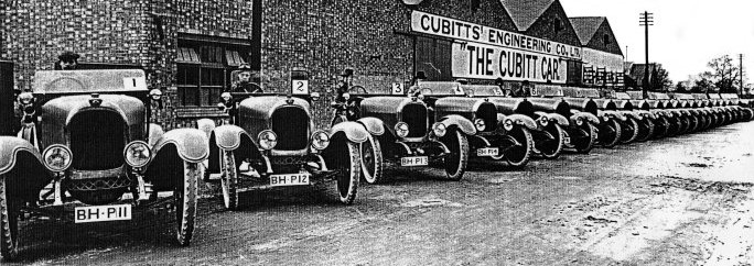 Cubitt_Car_Factory_c.1922_at_Great_Southern_Works,_Aylesbury